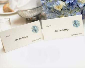 Custom Seating Cards, Table Tents, or Tags (Set of 25)