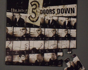 3 Doors Down CD Cover Magnetic Puzzle