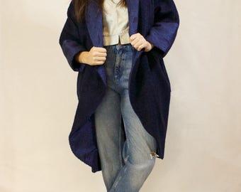Blue Night Coat