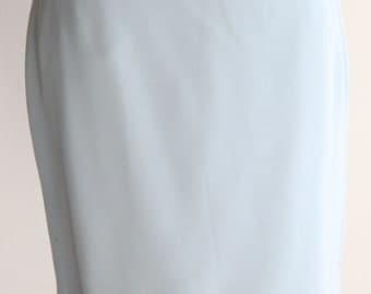Vintage Kenar Sky Blue Career Skirt Size 8