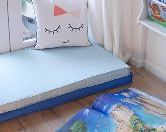 Play mats, floor cushion, mattress covers for children 60x120 cm, IKEA Hack, play mattress, kids, children, tumble