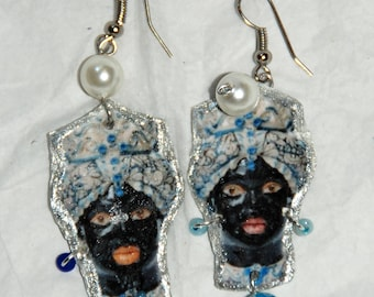"""Orecchini """"Teste di Moro"""" - """"Moorhead"""" earrings"""