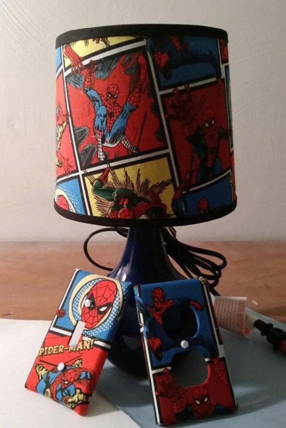 90+ [ Spider Man Lamp ] - Spiderman 3d Deco Light, Spearmark Amazing Kool Lamp Energy Class A 3D ...