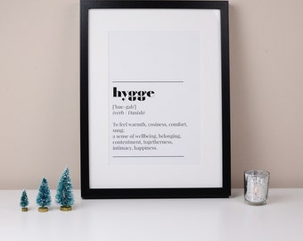 Hygge Dictionary Print