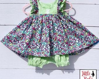 Little Girl's Dress - Spring Dress - Easter Dress - Special Occasion Dress - Coordinating Sister Dress - Summer Dress