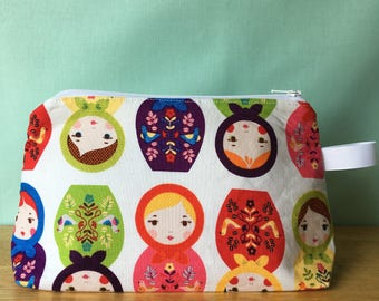 Small Project Bag- Nesting Dolls