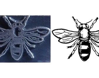 bee stamp,inspired printing stamp