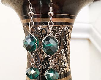 Double Shimmer Earrings