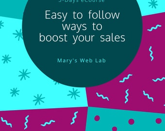 Boost Your Sales | 5-Days eCourse