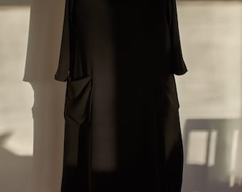 Lagen look womens clergy dress