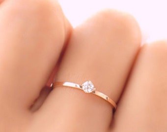Minimalist Dainty Ring