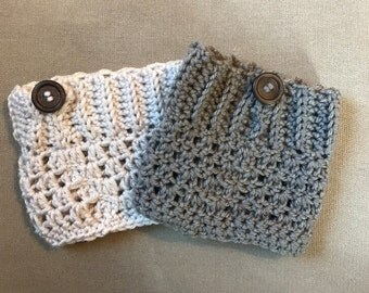 Crochet Boot Cuffs, boot cuffs, handmade boot cuffs, womans boot cuffs