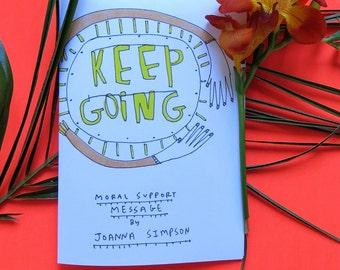 Keep Going Mini Zine A6
