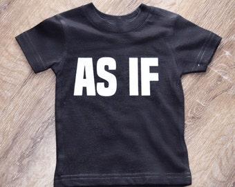 AS IF | toddler tee