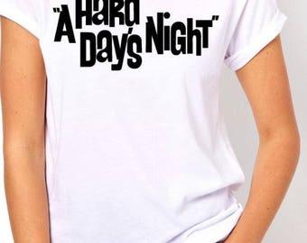 The Beatles Inspired shirt/ON SALE!/A hard days night/Beatles/John Lennon/Music shirt/Beatles shirt