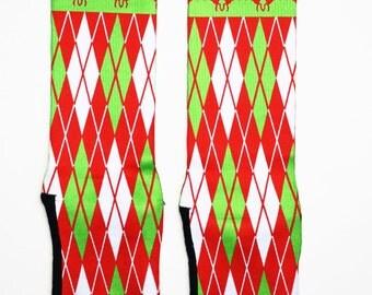 Christmas Argyle SectorApparel Socks