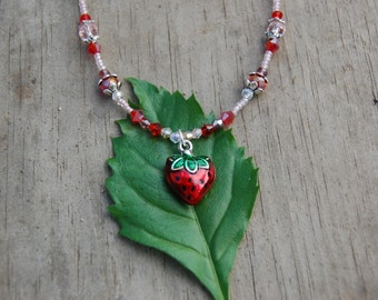 Strawberry Punch Necklace