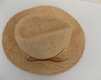 Hat, hat raffia, child's hat, hat girl, hat, boy, 52/53 cm, 55/56 cm, cm straw hat, natural, woven hat, handmade