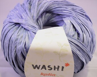 Katia Washi Tape Bulky yarn light denim #117