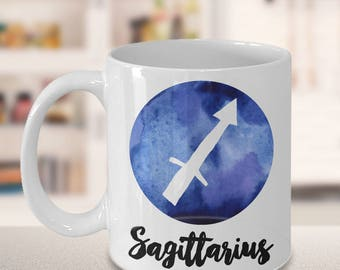 Sagittarius Mug - Sagittarius Gifts - Zodiac Mug - Horoscope Coffee Mug - Birthday Mug - Astrology Gift - Metaphysical Celestial Horoscopes