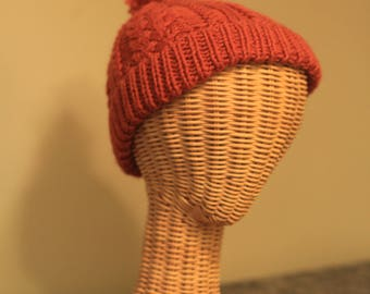 Child's Cabled Hat