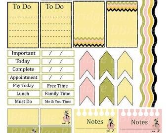 Easter Bonnet Digital Planner
