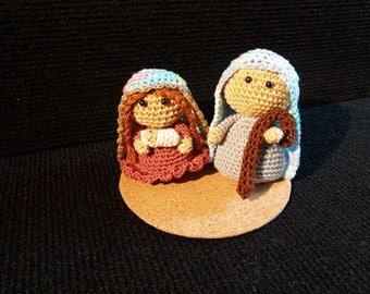 Presepe Amigurumi Etsy : nativity amigurumi Etsy