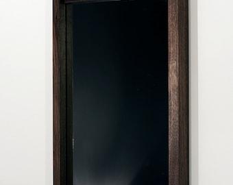 Stille mirror ~ American Black Walnut