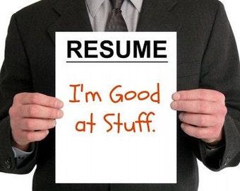 Fix my Resume