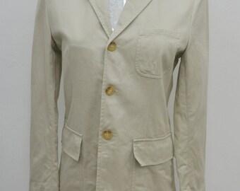 Vintage Polo Ralph Lauren Casual Blazer Coat Size Youth 150 Women's S
