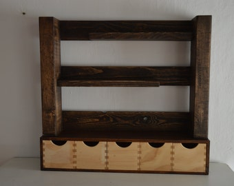 Bookcase for kitchen or decoration