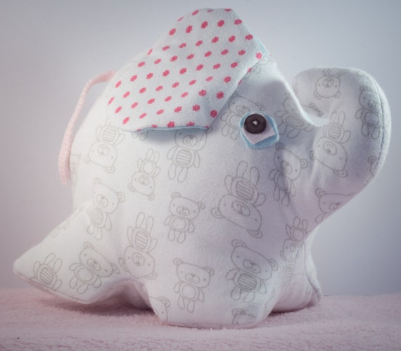 Eliah the elephant made out of your babygro or clothing