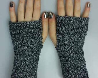 Pewter Gauntlets, Wristlets, Fingerless Gloves