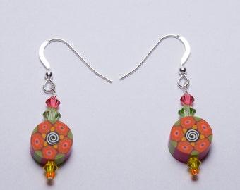 Fun Flower Earrings