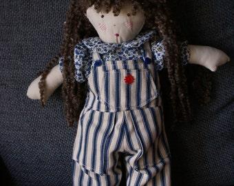 Girl rag doll - Evie