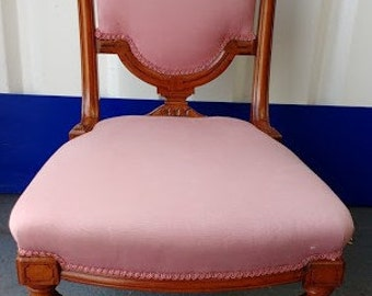Victorian nursing chair for re-upholstery project