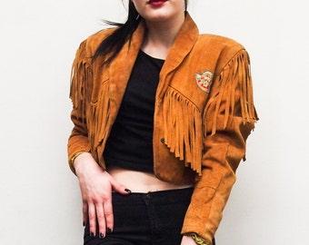 Gypsy Fringe Jacket - Handpicked Vintage