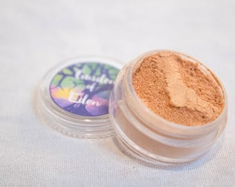 "Vegan Mineral Eye Shadow | ""Orangesicle"" | Makeup | Bath and Beauty | Cosmetics | Eyeshadow | Orange"