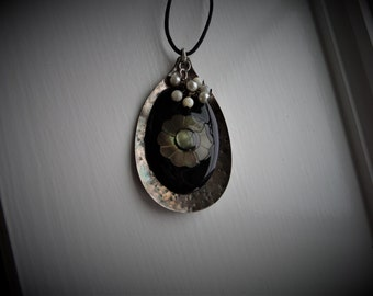 Vintage Spoon Necklace #522