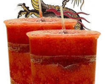 Dragon's Blood Votive Candle