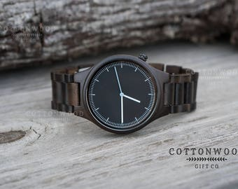 Engraved Watch for Him, Groomsmen Gift, Husband Gift, Mens Wooden Watch, Wood Watches or Men, Gifts for Him, Boyfriend Gift, Gifts for Dad