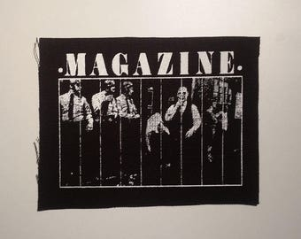 Magazine patch post punk new wave