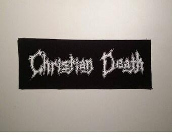 Christian death patch goth post punk death rock Rozz Williams
