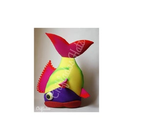 Colorful Fish Party Hat