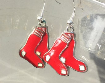 Boston Red Sox Earrings