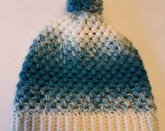 Teal Ombre Hat