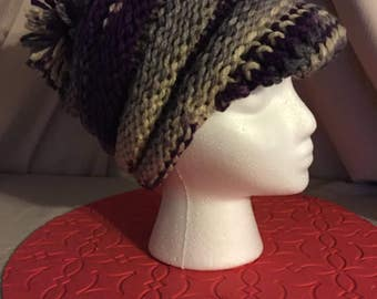 Intrigue Slouchy Cap with Brim