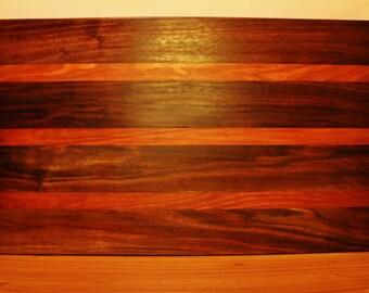 Walnut Cherry Cutting Serving Board