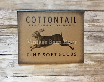 Cottontail Trading Company 8x10 Canvas