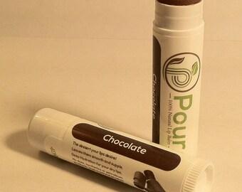 Cocoa-Chocolate Chapstick-Lip Balm Cocoa Butter Chapstick-Lips-Lip Balm Chocolate Cocoa Butter on-for Lips Chocolate Lips